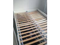 Ikea BRIMNES double bed frame with 4 large storage draws
