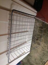 Ikea wardrobe storage baskets x4 with fittings