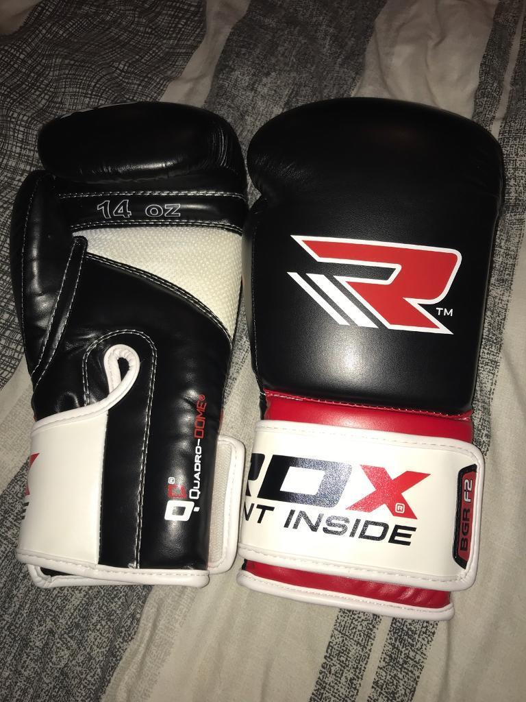 RDX Atomic Sythetic Leather Boxing Gloves