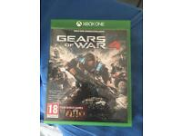 Gears of war 4 and WWE 2k17 Xbox one
