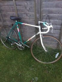 Apollo Eclipse 10speed Road Bike Large 60cm Solid Hitensile Steel Frame Fast 27' Maillard Wheels