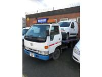 Toyota LPG recovery beavertail new mot 3.5t