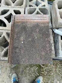 Reclaimed Redland mini stonewald roof tile