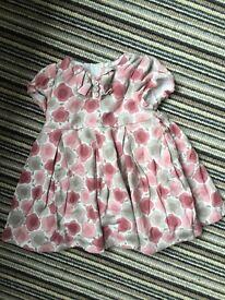 Girls summer dresses x 4 - 12-18 months