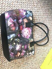 Tedbaker floral handbag