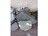 Rocks, large selection ranging from 1kg to 60kg.