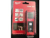 Milwaukee LDM30 laser measurer BRAND NEW