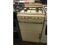 50CM CREAM GAS COOKER