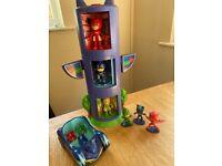 PJMask toys , Catboy costume & Gekko watch