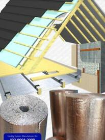 Insulation rolls 25m x 1.2m