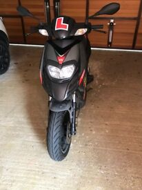 Aprila SR Motard 125 Moped in Excellent Condition. Just 3000 miles on the clock