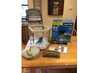 Aquastart Aqua One 28 Litre Fish tank with accessories