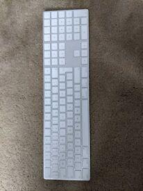 Genuine Apple A1843 Magic Keyboard with Numeric Pad - British English (Silver)