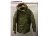 Next Fur Lined Hooded Coat - STA21