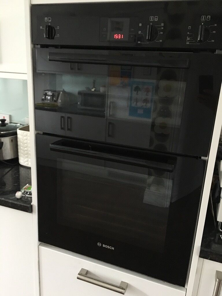 Bosch Double oven with grill