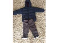 Boys 12-18 months coat and trousers