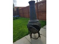 King BBQ chimnea