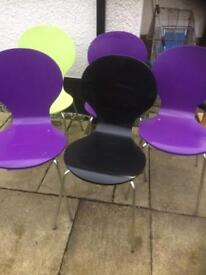 Multicoloured Chairs - Can Deliver