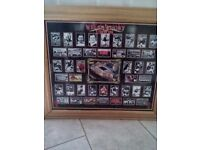 HISTORY OF THE WELSH RUGBY UNION LARGE PICTURE IN FRAME
