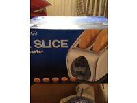 Two slice toaster (Tesco)