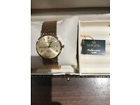 9ct gold watch