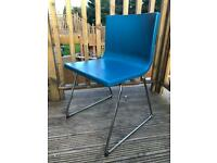 Authentic leather dinning chairs in great condition