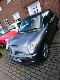 For sale or swaps mini cooper s supercharged