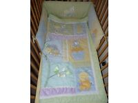3 Pice KIDS LINE Exclusive of Decoration COT/BED Set Like New!
