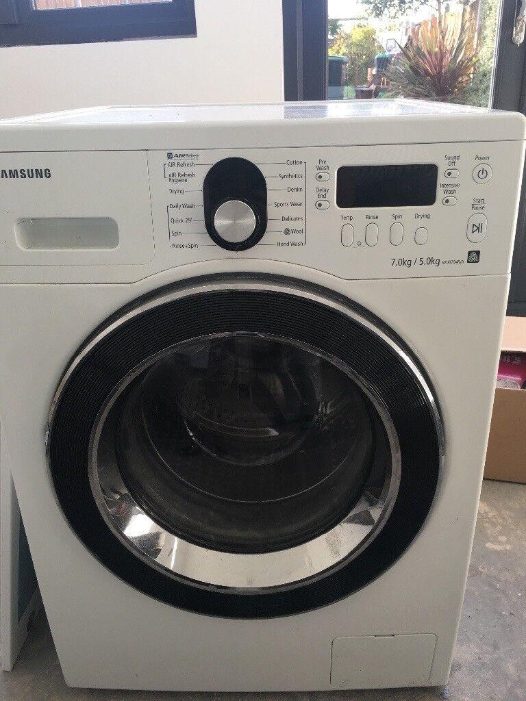 Samsung washer dryer