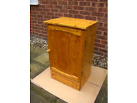 WOODEN Pine Cupboard shabby chic / up cycle FREE LOCAL DELIVERY#