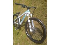 Transition Bank Manitou Circus Forks Mountain Bike 4X Jump (On Auction Now, see description)