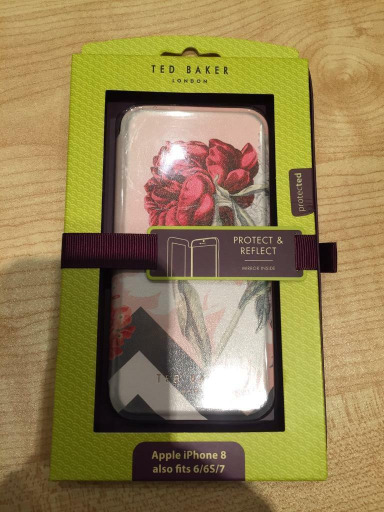 watch ec81e 39f8b Ted Baker Iphone Case Flip Mirror 6 6s 7 8 Protection Phone Apple  Protection Flower rose Postage !   in Bury St Edmunds, Suffolk   Gumtree