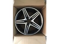 """Genuine Mercedes AMG 18"""" alloy. Excellent condition. A1764010402"""