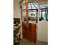 Solid pine stable door
