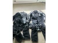 Job lot of motorcycle clothing