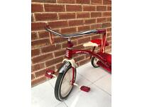 Radio Flyer Tricycle Classic Dual Deck
