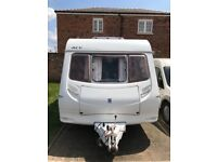 Ace Supreme Twinstar 2005 4 berth caravan twin wheel