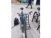 Bicycle for sale, includes pump & lock