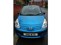 2011 Nissan Pixo Visia, genuine low mileage, cheap to run, great condition and very reliable