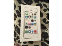 Iphone 5 s with case, box and charger, open for offers!