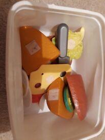 Childrens toy baguette set