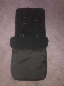 Black Cosy Toes / Footmuff