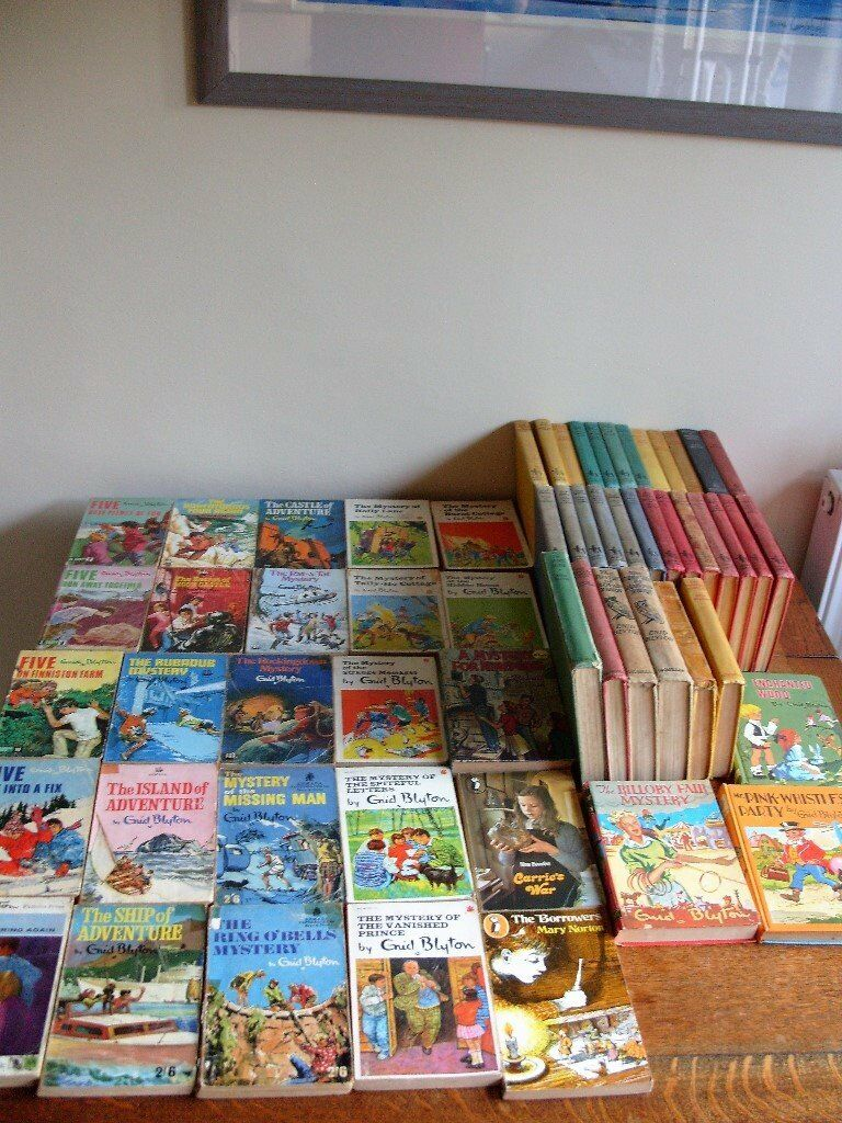 59 Childrens Books 56 Enid Blytons Published In 1960s Blyton Mystery Of The Vanished Prince 1970s