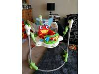 Fisher Price Rainforest Jumperoo bouncer