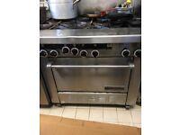 Garland oven 6 burners
