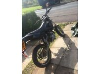 CPI Sm50, Beeline, black tiger edition. 50cc supermoto, enduro, scooter, Moped
