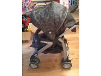 Silver cross Pram Push chair and all Accessories inc cosy toes , Moses and bag