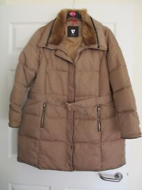 Heavy weight quilted jacket - brand new - size 22 (fit 18 or 20)
