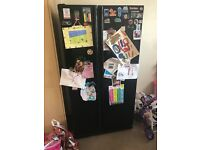 Black Samsung American fridge freezer
