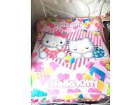 Hello Kitty Bundle Blanket, bag, purse, sunglasses, pencil case and phone charm